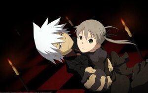 Rating: Safe Score: 10 Tags: maka_albarn signed soul_eater soul_eater_(character) wallpaper User: charunetra