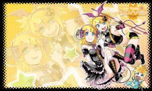 Rating: Safe Score: 5 Tags: kagamine_len kagamine_rin kitano_tomotoshi vocaloid User: charunetra