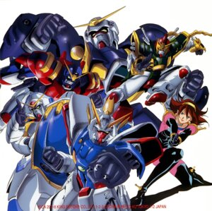 Rating: Safe Score: 6 Tags: bodysuit bolt_gundam disc_cover dragon_gundam g_gundam gun gundam gundam_maxter gundam_rose mecha rain_mikamura shining_gundam User: Radioactive