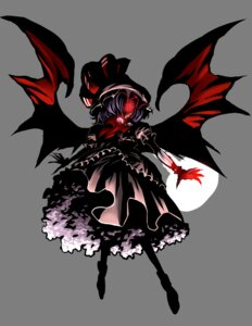 Rating: Safe Score: 7 Tags: dress remilia_scarlet touhou transparent_png warainaku wings User: charunetra