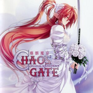 Rating: Safe Score: 22 Tags: disc_cover dress elf ignis jingai_makyou nitroplus niθ pointy_ears screening sword wedding_dress User: alimilena