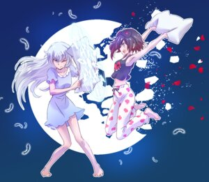Rating: Safe Score: 26 Tags: iesupa pajama ruby_rose rwby weiss_schnee User: saemonnokami