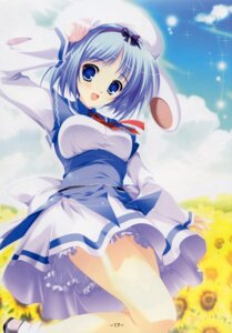 Rating: Safe Score: 43 Tags: bleed_through kujou_yuuka magus_tale mikeou User: MirrorMagpie