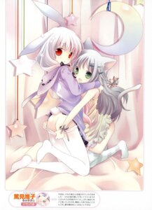 Rating: Questionable Score: 53 Tags: animal_ears bunny_ears pantyhose panty_pull tail thighhighs tokumi_yuiko User: crim