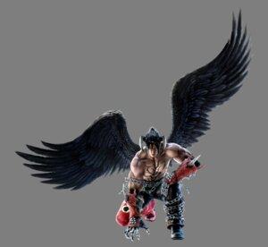 Rating: Questionable Score: 8 Tags: armor cg devil devil_jin horns jin_kazama male tekken tekken_6 transparent_png wings User: eluna^_^