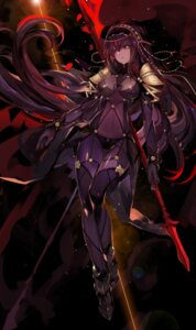 Rating: Safe Score: 82 Tags: armor bodysuit fate/grand_order saberiii scathach_(fate/grand_order) weapon User: Mr_GT