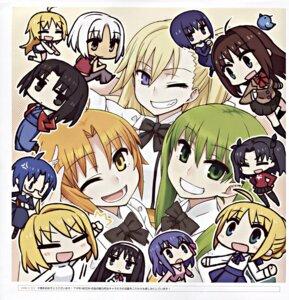 Rating: Safe Score: 9 Tags: aozaki_aoko arcueid_brunestud canaan canaan_(character) chan×co chibi ciel crossover fate/stay_night hibino_hibiki kara_no_kyoukai katsuragi_chikagi kuonji_alice mahou_tsukai_no_hako mahou_tsukai_no_yoru matou_sakura oosawa_maria saber sugata_sunao toono_akiha toosaka_rin tsukihime type-moon User: Radioactive