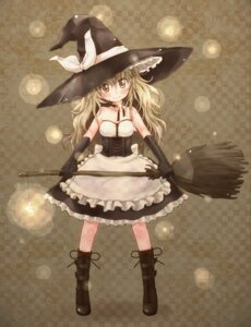 Rating: Safe Score: 16 Tags: kirisame_marisa meltdown_comet touhou witch yukiu_con User: Radioactive