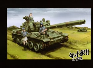 Rating: Questionable Score: 6 Tags: andou_rena girls_und_panzer marie_(girls_und_panzer) oshida_ruka tagme User: Radioactive