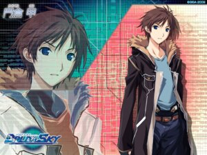 Rating: Safe Score: 4 Tags: baldr_sky giga kadokura_kou kikuchi_seiji male wallpaper User: abdd