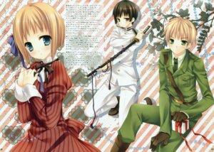 Rating: Safe Score: 14 Tags: dress fixed sword tatekawa_mako uniform User: mmqmxsg