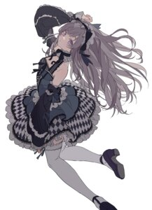 Rating: Safe Score: 37 Tags: dress gothic_lolita heels lolita_fashion skirt_lift tagme the_idolm@ster the_idolm@ster_shiny_colors thighhighs yuukoku_kiriko User: KazukiNanako