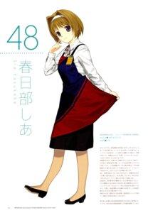 Rating: Safe Score: 3 Tags: kasukabe_shia mibu_natsuki tetsudou_musume User: fireattack