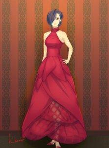 Rating: Safe Score: 10 Tags: dress heels kazamidori_haruka kirishima_touka see_through tokyo_ghoul User: charunetra