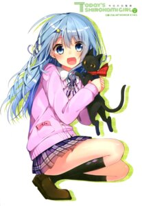 Rating: Questionable Score: 108 Tags: mishima_kurone neko seifuku User: Twinsenzw