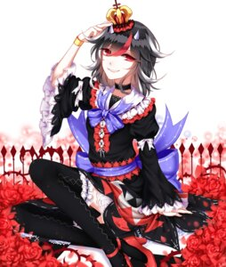 Rating: Safe Score: 26 Tags: heels horns kijin_seija lolita_fashion sheya thighhighs touhou User: Mr_GT