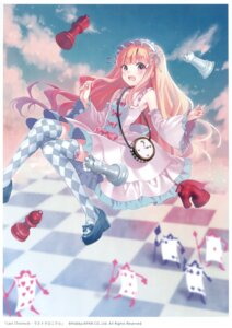 Rating: Safe Score: 63 Tags: dress fukahire_sanba heels last_chronicle ruinon thighhighs User: Twinsenzw