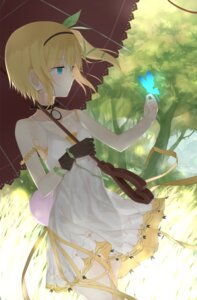 Rating: Safe Score: 44 Tags: akitaka dress edna summer_dress tales_of_zestiria umbrella User: mash