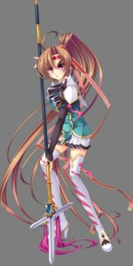 Rating: Safe Score: 22 Tags: bachou baseson heels koihime_musou tagme thighhighs transparent_png weapon User: Radioactive