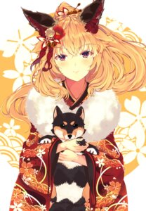 Rating: Safe Score: 27 Tags: animal_ears kimono mikususannda User: Mr_GT