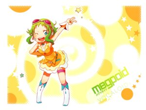 Rating: Safe Score: 4 Tags: gumi kuzira_kirara vocaloid wallpaper User: pyoli