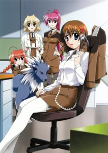 Rating: Safe Score: 13 Tags: mahou_shoujo_lyrical_nanoha mahou_shoujo_lyrical_nanoha_strikers pantyhose reinforce_zwei shamal signum vita yagami_hayate zafira User: syaoran-kun