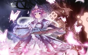 Rating: Safe Score: 14 Tags: kaisu saigyouji_yuyuko touhou wallpaper User: ddns001