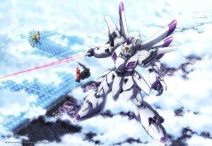 Rating: Safe Score: 14 Tags: gundam gundam_f91 mecha sword washikita_kyouta User: drop