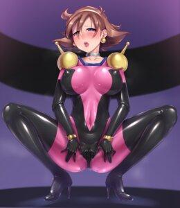 Rating: Explicit Score: 45 Tags: anus bodysuit censored erect_nipples g_gundam gacchu gundam pussy rain_mikamura User: RyuZU