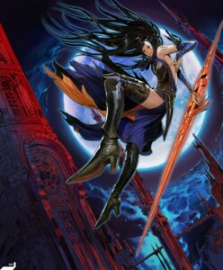 Rating: Safe Score: 20 Tags: castlevania castlevania:_order_of_ecclesia dress hirooka_masaki konami shanoa tattoo thighhighs weapon User: majoria