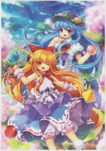 Rating: Safe Score: 13 Tags: capura.l eternal_phantasia hinanawi_tenshi horns ibuki_suika touhou User: 乐舞纤尘醉华音