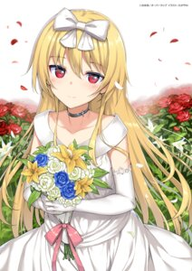 Rating: Safe Score: 51 Tags: arifureta_shokugyou_de_sekai_saikyou dress takayaki wedding_dress yue_(arifureta) User: kiyoe