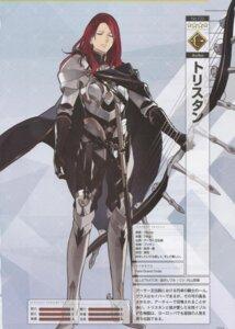 Rating: Safe Score: 3 Tags: armor binding_discoloration fate/grand_order male morii_shizuki profile_page tristan_(fate/grand_order) User: Radioactive