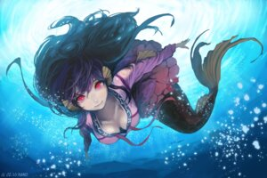 Rating: Safe Score: 76 Tags: cleavage mayo_(artist) mermaid monster_girl signed tail User: Mr_GT