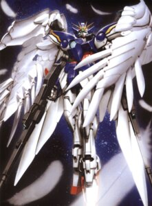 Rating: Safe Score: 19 Tags: endless_waltz gundam gundam_wing mecha morishita_naochika User: Radioactive