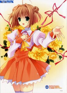 Rating: Safe Score: 19 Tags: dress happy_princess mizusawa_yuuna suzuhira_hiro thighhighs User: admin2