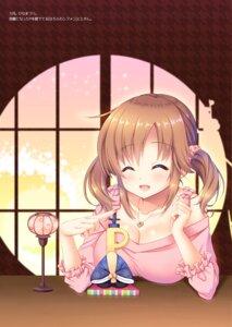 Rating: Questionable Score: 15 Tags: cleavage mizukoshi_mayu the_idolm@ster the_idolm@ster_cinderella_girls totoki_airi User: kiyoe