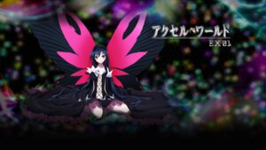 Rating: Safe Score: 53 Tags: accel_world dress kuroyukihime no_bra wallpaper wings User: SHM222