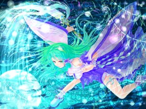 Rating: Safe Score: 6 Tags: cabbaco kochiya_sanae touhou wallpaper User: Mr_GT