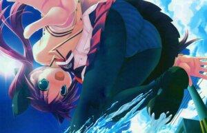 Rating: Questionable Score: 12 Tags: harukazedori_ni_tomarigi_wo momotani_harune pantsu pantyhose shimapan skyfish tsurugi_hagane User: admin2