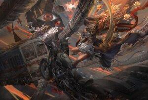 Rating: Safe Score: 18 Tags: armor hijiri_byakuren stu_dts touhou yakumo_yukari User: BattlequeenYume