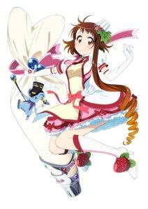 Rating: Safe Score: 16 Tags: dress heels megane miyamoto_ruri nisekoi onodera_kosaki weapon User: saemonnokami