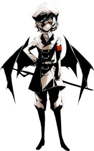 Rating: Safe Score: 20 Tags: eyepatch neichiru remilia_scarlet touhou uniform wings User: Radioactive