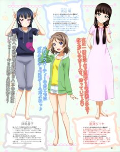 Rating: Safe Score: 22 Tags: dress kurosawa_dia love_live!_sunshine!! tagme tsushima_yoshiko watanabe_you User: drop
