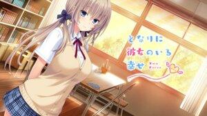 Rating: Safe Score: 32 Tags: nekonyan prekano seifuku serizawa_chisa sweater tonari_ni_kanojo_no_iru_shiawase_~two_farce~ wallpaper User: moonian