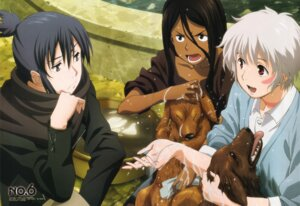 Rating: Safe Score: 4 Tags: inukashi ishino_satoshi nezumi no.6 shion_(no.6) wet User: ghoulishWitchhx