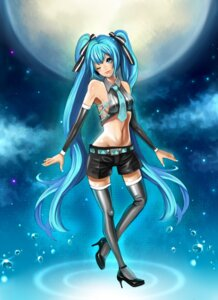 Rating: Safe Score: 8 Tags: hatsune_miku minami_haruya thighhighs vocaloid User: charunetra