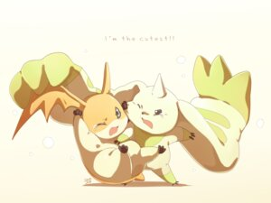 Rating: Safe Score: 11 Tags: ceal-sakura-ai digimon digimon_tamers monster patamon terriermon User: charunetra