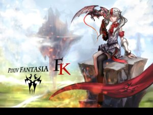 Rating: Safe Score: 9 Tags: baka_(mh6516620) heels monster pixiv_fantasia pixiv_fantasia_fallen_kings thighhighs User: Noodoll