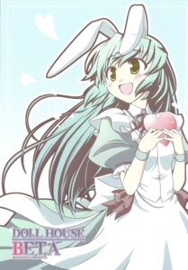 Rating: Safe Score: 10 Tags: animal_ears bekkankou bunny_ears dress rocket_yarou User: fairyren